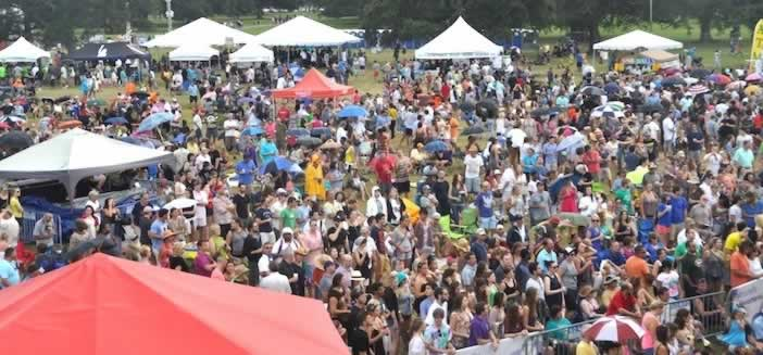 The Louisiana Seafood Festival