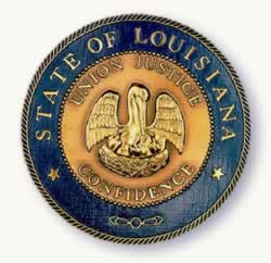 Seal of the State of Louisiana