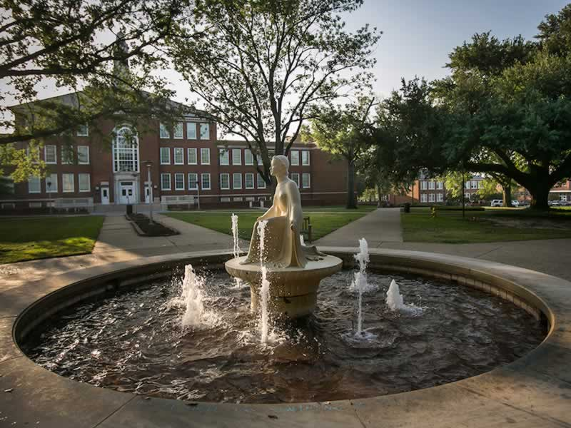 Our Lady of the Mist, Louisiana Tech University, Ruston, Louisiana