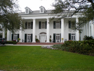 Louisiana Governor's Mansion in Baton Rouge