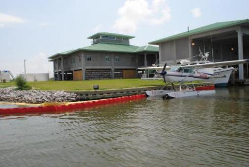 Grand Isle Marine Lab operated by the Louisiana Department of Wildlife & Fisheries