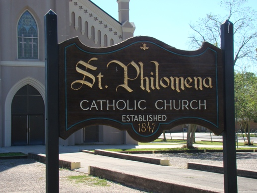 St. Philomena Catholic Church, established 1847, Labadieville, Louisiana