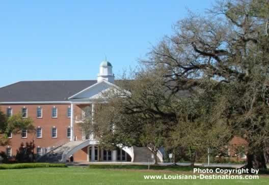 Campus of the University of Louisiana at Lafayette