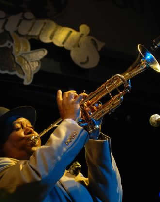 Kermit Ruffins at Tipitina's in New Orleans