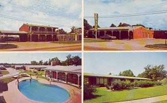 Chateau Charles Motel located in Lake Charles, Louisiana