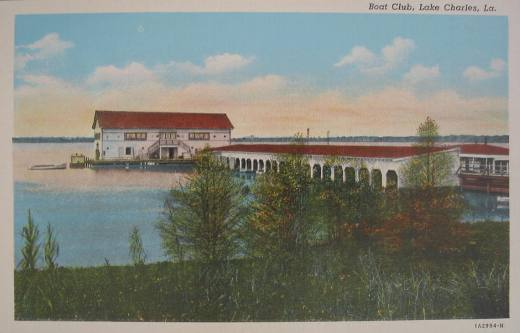 Boat Club, Lake Charles, Louisiana