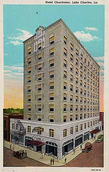 Hotel Chareston in Lake Charles, Louisiana