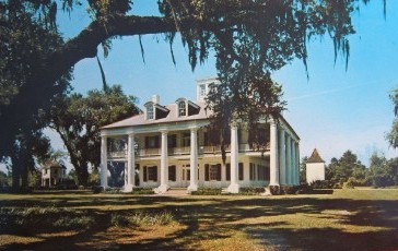 Houmas House, on the River Road between Baton Rouge and New Orleans ... a favorite vacation destination in South Louisiana