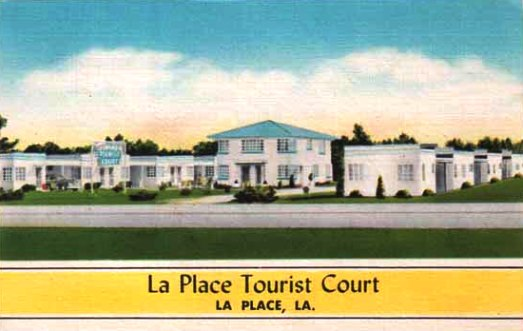 Earlier travel times at the LaPlace Tourist Court, LaPlace, Louisiana