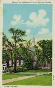 Historic image of Keeny Hall, Louisiana Polytechnic Institute, Ruston Louisiana